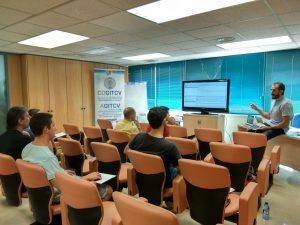 Curso de Ciberseguridad en el COGITCV