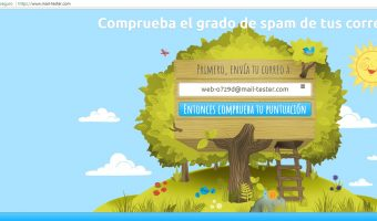 Test para comprobar el nivel de SPAM